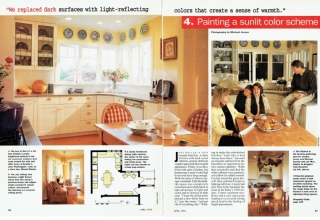 American Home Style Magazine article 04_1995 photography by Michael Jensen and Ken Probst, Stylist Barbara Mundall
