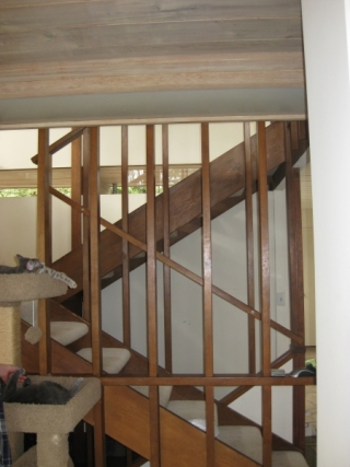 Mercer Island Whole House Stairway Before